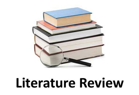 Doing a literature review University of Leicester